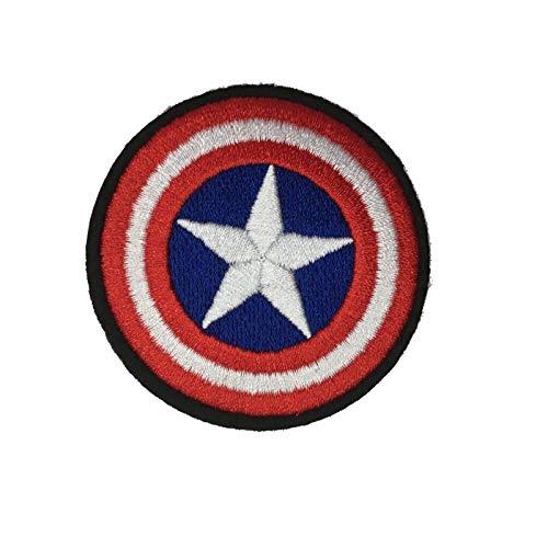 Patch zum Aufbügeln oder Aufnähen, Motiv: Flagge Amerika, für T-Shirts, Taschen