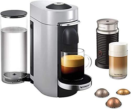 Nespresso Magimix Vertuo Plus & Milk, Silber-Finish | 11388 – 3 Monate Kaffee und ein Aeroccino