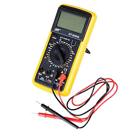 Best Bargain Vosarea Electrician Use DC Voltage High Precision Digital Multimeter Multi Tester Meter