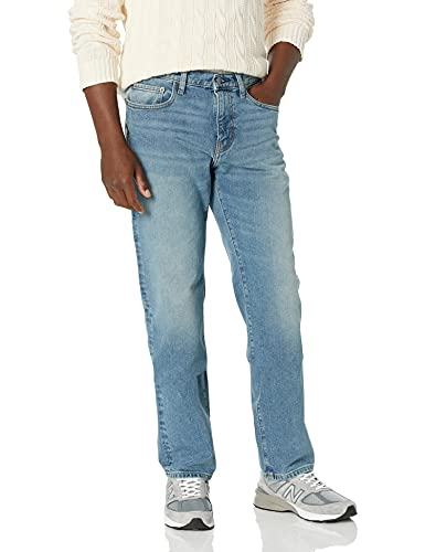 Amazon Essentials Men's Straight-Fit Stretch Jean