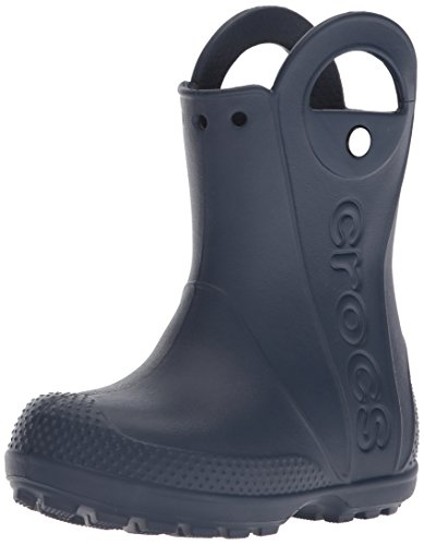 Crocs Unisex-Kinder Handle It Rain Boot Kids 12803-410 Gummistiefel, Blau (Navy, 29/30 EU