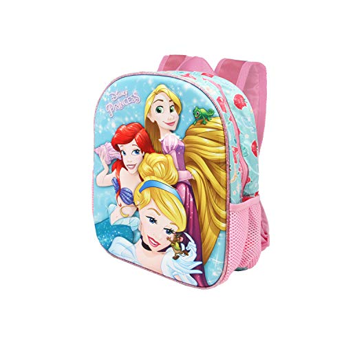Karactermania Princesas Disney Beautiful - Mochila 3D Pequeña, Multicolor