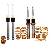 maXpeedingrods Coilovers for VW Golf MK5 MK6 2003-2012, Jetta MK5 2006-2015, VW CC 2009-2014, VW EOS 2007-2014, VW Tiguan 2009-2014