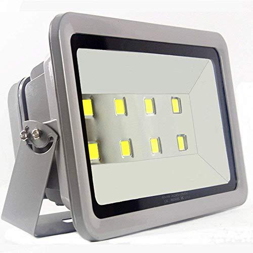 TYZXR Luz de inundación LED 400W Iluminación Exterior 6000K Luces de trayectoria Impermeables Luces Blancas Luces de inundación al Aire Libre 40000LM Carcasa de Aluminio 100% 50,000 Hrs