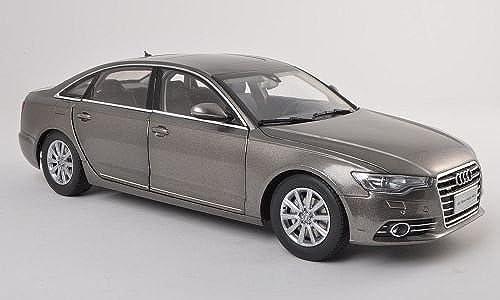 Audi A6L, silber-grau , 2012, Modellauto, Fertigmodell, Paudi 1 18