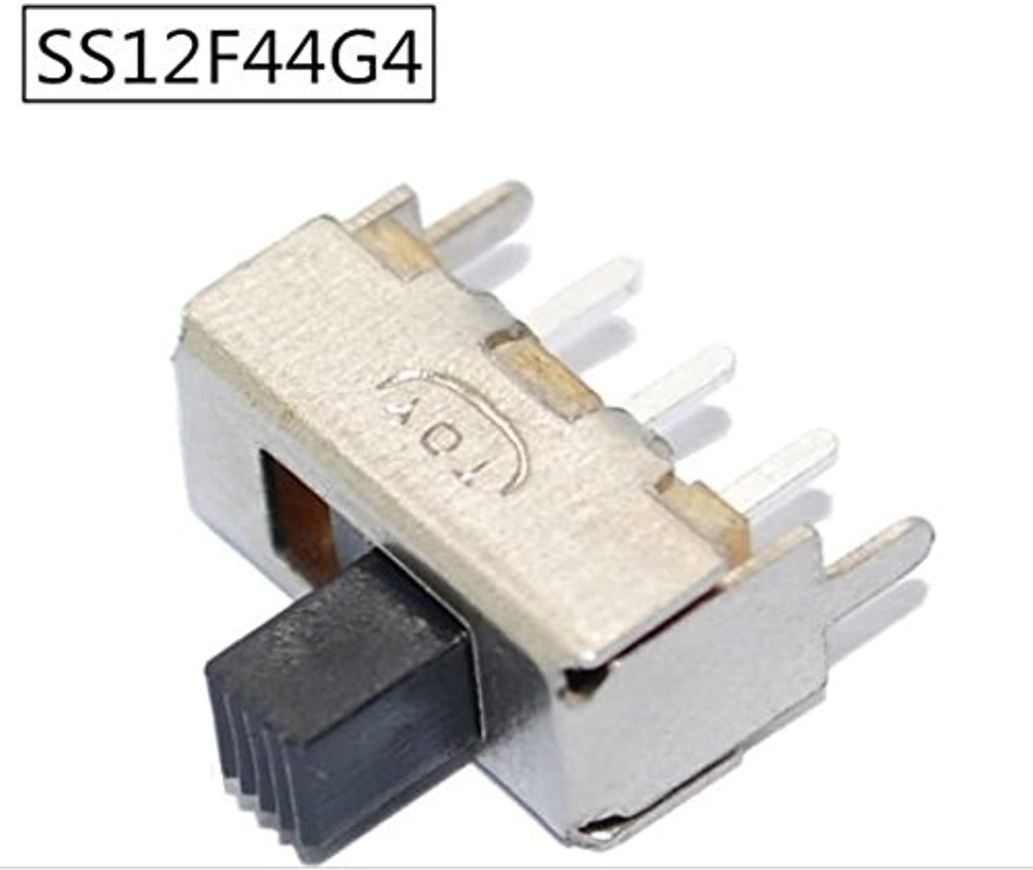 500PCS SS12F44 1P2T SPDT 3Pin +2PIN Fixed Holder Toggle Switch Switches Handle Length 4mm Best Quality.