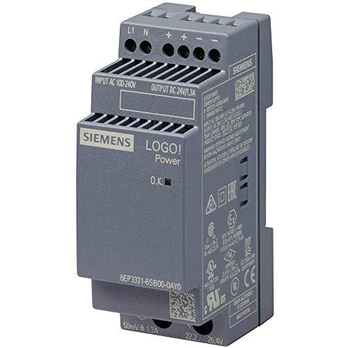 Siemens 6EP3331-6SB00-0AY0 Netzteil & Spannungsumwandler Innenraum Mehrfarbig - Netzteile & Spannungsumwandler (Innenraum, Mehrfarbig, 67 mm, 56 mm, 96 mm, 140 g)