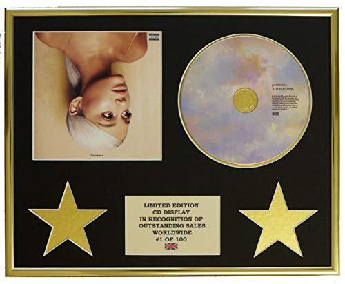 Everythingcollectible Ariana Grande/CD-Darstellung/Limitierte Edition/COA/SWEETNER