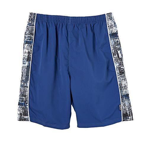 eleMar Blaue Herren Bade Bermuda Shorts grossen Grössen 2XL bis 10XL, Größe:9XL