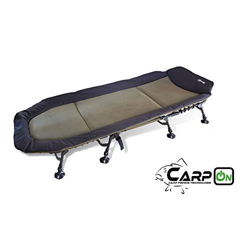 CarpOn Liege 8 Camping- Beine XXL Karpfenliege
