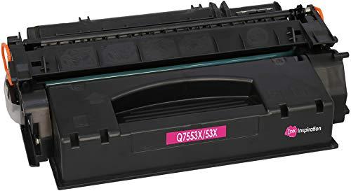 INK INSPIRATION® Premium Toner kompatibel für HP Q7553X 53X Laserjet P2014 P2014n P2015 P2015d P2015dn P2015dtn P2015x M2727nf M2727nfs MFP Canon LBP-3310 LBP-3370 | 7.000 Seiten