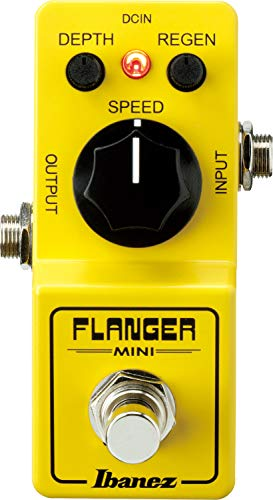 Ibanez FLMINI Flanger Guitar Pedal - True Bypass - Yellow
