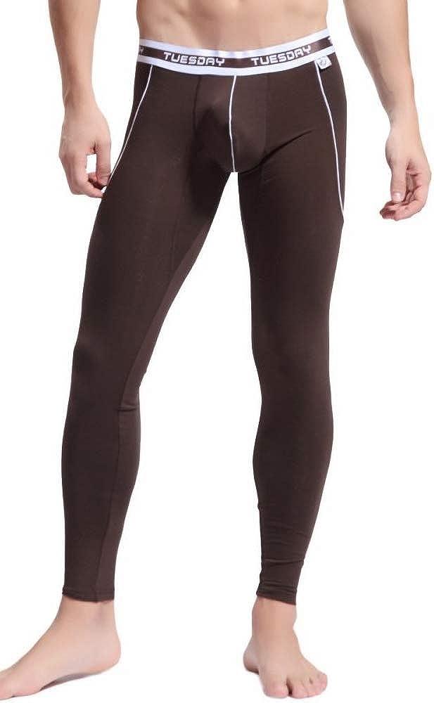 Mendove Men's Bamboo Fiber Modal Long Johns Thermal Underwear Bottoms