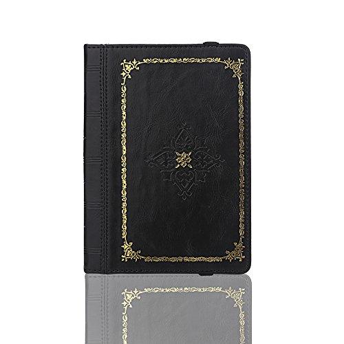 ENJOY-UNIQUE Funda de piel sintética estilo libro antiguo para Kindle, Sony, Pockbook,...