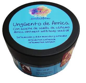 Ungüento de árnica - Dolor e inflamación muscular y articular - 100% natural y artesanal - 100 ml