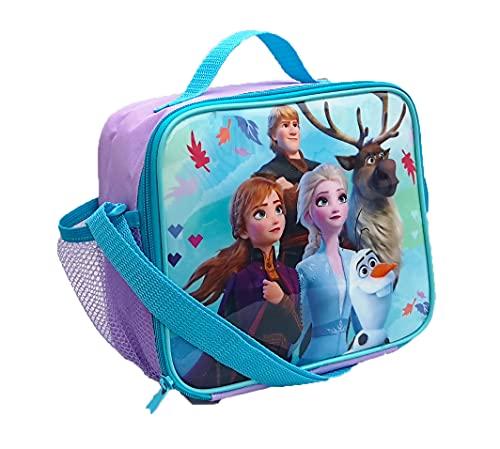 Kids Character Frozen Lunch Bag For School (Frozen)