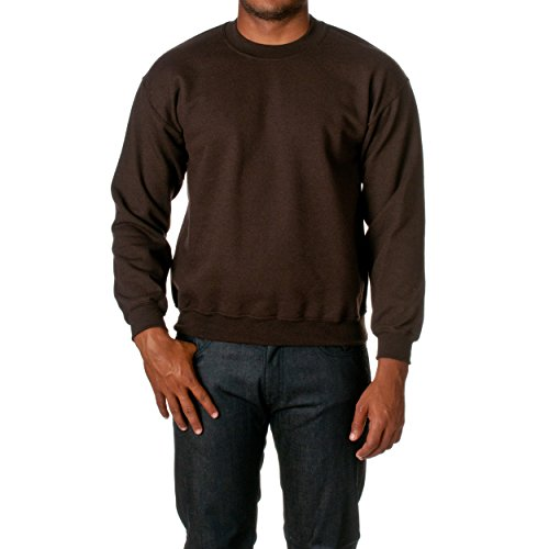 Gildan Heavy Blend Erwachsenen Kapuzen-Sweatshirt 18500, Dark Chocolate, M