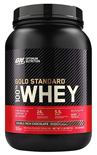 【国内正規品】ON Gold Standard 100% ホエイ ダブルリッチチョコレート 907g(2lb) 「ボトルタイプ」