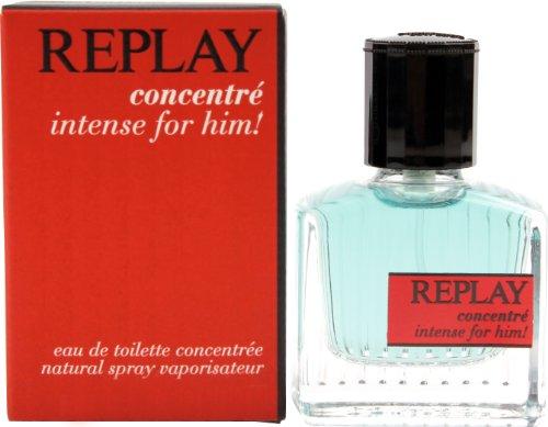 Replay Intense homme / men, Eau de Toilette, Vaporisateur / Spray 30 ml, 1er Pack (1 x 30 ml)