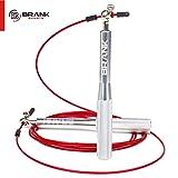 BRANK SPORTS Comba Crossfit con 3 Cables | Cuerda Saltar Profesional Ajustable | Combas Crossfit Hombre y Mujer | Comba de Boxeo Speed Rope para Entrenamiento Funcional | Garantía 365 días