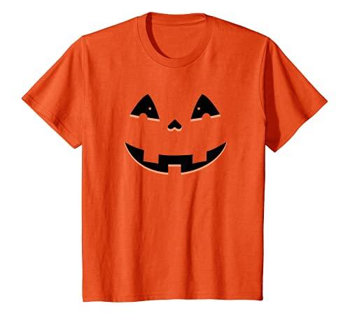 Kinder Halloween Shirt Für Kinder Mit Kürbis Für Halloween 2021 T-Shirt