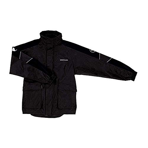 Bering Regenjacke, Regenschutz, Fahrrad Regenbekleidung Maniwata Regenjacke schwarz 4XL, Herren, Tourer, Ganzjährig
