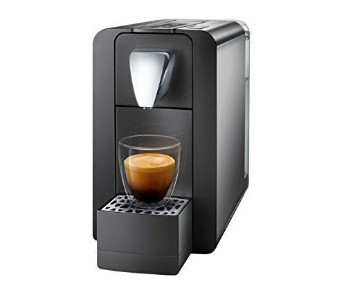 Cremesso Compact One II Kaffeevollautomat, graphit black