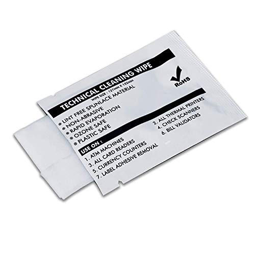 99.9% Technical Prep Pads, 5'×6' Multi-Purpose Large Non Woven Handy Wipes Cleaning for Surfaces/Electronics/Industrial/Thermal Paste Remover, etc, 40/Box
