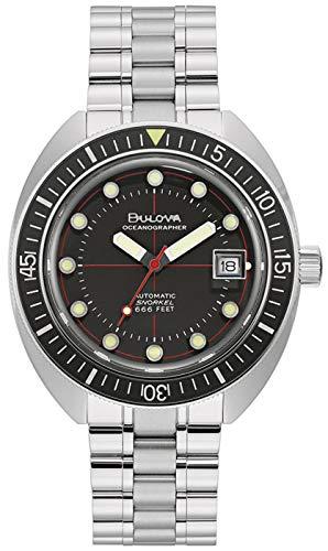 Bulova 96B344 Automatikuhren Taucheruhren Mechanische Armbanduhren