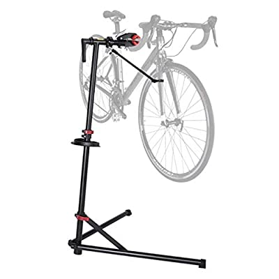 Clothink Home Gargage Bicycle Mechanics Workstand Portable Heavy Duty for Mountain Bikes and Road Bikes Maintenance