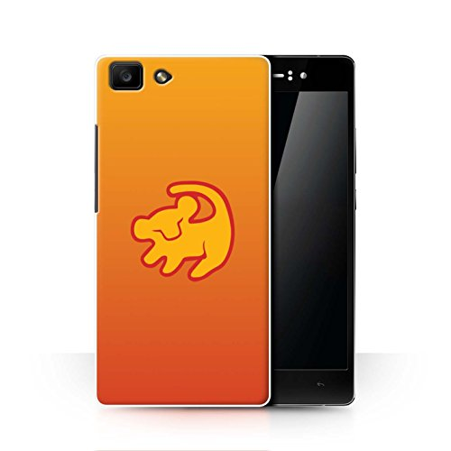 Hülle Für Oppo R5 Karikatur Afrikanische Tiere Lion Symbol Design Transparent Ultra Dünn Klar Hart Schutz Handyhülle Case