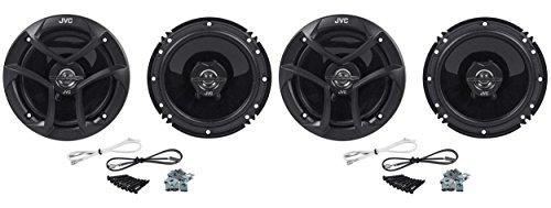 JVC (2) CS-J620 Pairs of 6.5' 2-Way Coaxial Car Speakers