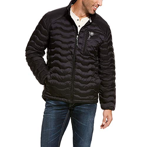 ARIAT Men's Ideal 3.0 Down Jacket Black Size XL