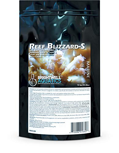 Dog | Brightwell Aquatics Reef Blizzard-S – Powdered Planktonic Blend for Feed Small and Medium-Polyp Stony Corals, Gym exercise ab workouts - shap2.com