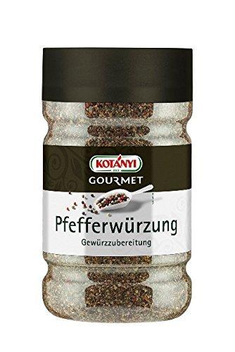 Kotanyi Pfefferwürzung Gewürzzubereitung  Gewürze für Großverbraucher und Gastronomie,740 g