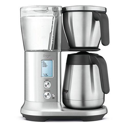 Sage Appliances SDC450 Präzisions-Kaffeemaschine The Precision Brewer Thermal, Gebürstete Edelstahloptik, Thermoskanne