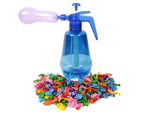 Alsino Wasserbomben Füllstation 100 Ballons Wasserbombe Pumpe Füller Wasserballonpumpe 1800