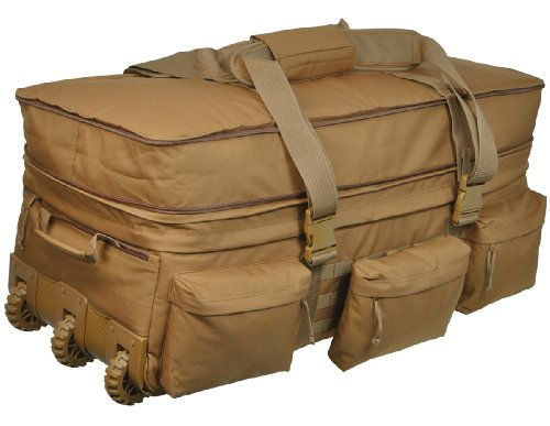 Big Sale Sandpiper of California Rolling Loadout Luggage X-Large Bag (Brown, 15.5x37x17-Inch)