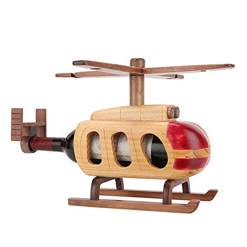 IREANJ Soporte creativo para copas de vino para decoración de copas de vino de madera, soporte para copas de vino, para bar, cocina (color: natural, tamaño: 39,5 x 37,5 x 27 cm)