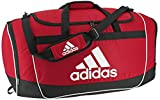 adidas Unisex Defender II Medium Duffel Bag, Power Red, ONE SIZE