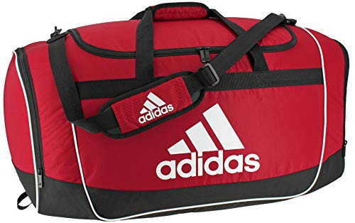 adidas Unisex Defender II Small Duffel Bag, Power Red, ONE SIZE