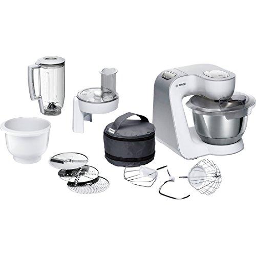 Bosch mum58234–Küchenmaschine (Farbe Weiß, Edelstahl, massive, Mix)