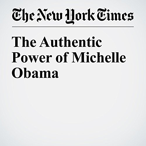 The Authentic Power of Michelle Obama audiobook cover art