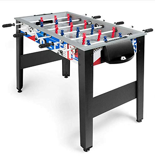 Best Bargain Sunil Foosball Table Wooden Home Recreation 42 for Adults & Kids