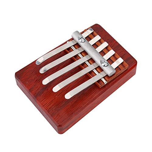 Piano de pulgar útil para niños Piano de pulgar de 6 teclas durables para rendimiento para estudiantes(5 tone)