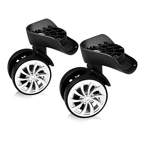 Luggage Swivel Wheels, Suitcase Replacement Wheels, Universal Luggage Wheels for Luggage, Suitcase Replacing and Repairing(2pcs)