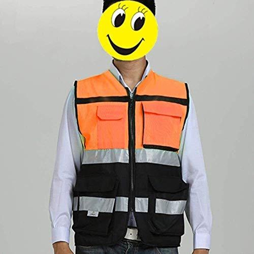 Multifunktionale reflektierende Kleidung Weste Reflektierende Sicherheit Reflektierende Motorrad-Jacken Sicherheitsweste mit reflektierendem Sicherheit Overalls 1yess