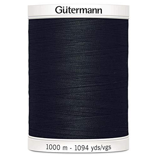 Gütermann Allesnäher No.100 1000 m 000, Schwarz