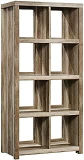 Sauder HomePlus Cube Bookcase, 8 Shelves, Lintel Oak