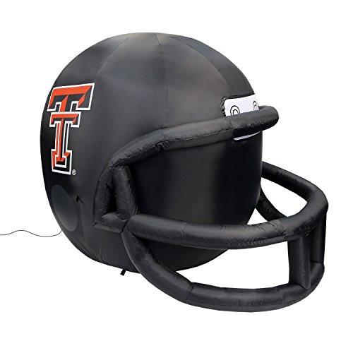 Fabrique Innovations NCAA Unisex aufblasbar Rasen Helm, Unisex, Team, rot, Einheitsgröße